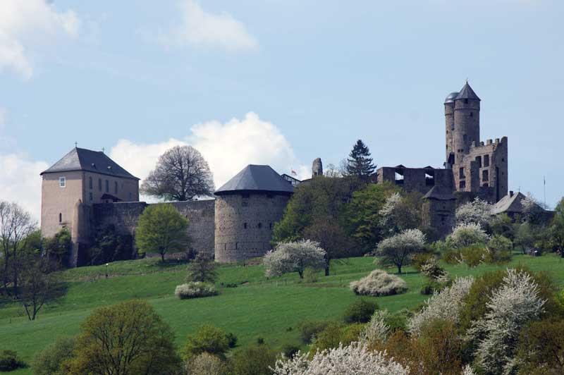 Burg auf franzosisch