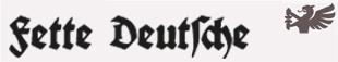 DS Fette Deutsche Schrift