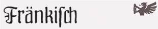 DS Fraenkisch Spitze Buchkursive (Mager und Halbfett)