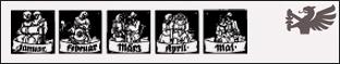 DS Monatsvignetten Set 1-2