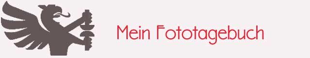 Header mit Schriftzug Mein Fototage und Druckerwappen