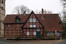 Das Kantor-Haus auf dem Münsterkirchplatz in Herford