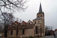 Das Herforder Münster mit der Wolderuskapelle