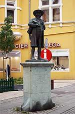 Das Linnenbauer-Denkmal in Herford