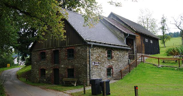 Knochenmühle Mühlhofe in Meinerzhagen-Mühlhofe (Gesamtansicht)