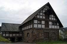 Historische Mühle in Lenhausen am Fretterbach
