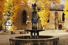 Der Marktbrunnen in Rüthen