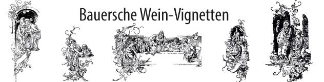 Bauersche Weinvignetten