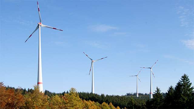 Windräder am Hilchenbacher Windwanderweg