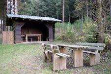 Schutzhütte des SGV auf dem Hilchenbacher Windwanderweg