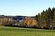 Campingplatz an der Bruchertalsperre bei Marienheide