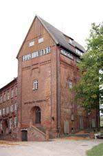 Fritz-Reuter-Gedenkhalle in der Festung Dömitz an der Elbe