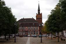 Marktplatz der Stadt Dömitz