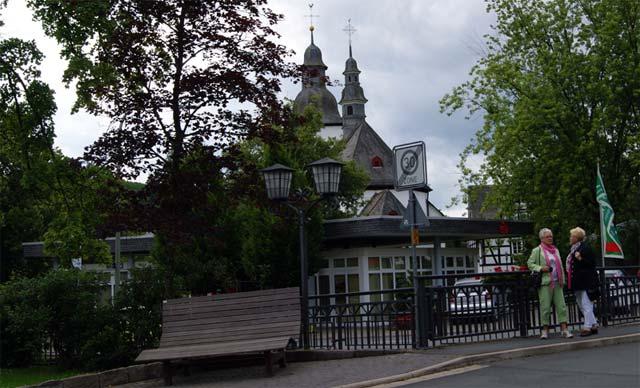 Zentrum des Ferienorts Oberkirchen im Schmallenberger Sauerland