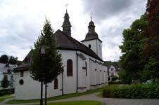 Die Sankt-Gertrudis-Kirche in Schmallenberg-Oberkirchen