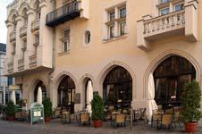 Das Café Prag in der Schweriner Innenstadt
