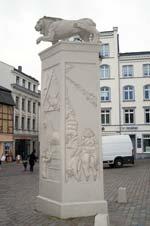 Löwendenkmal in Schwerin