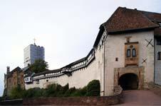 Eingang zur Wartburg bei Eisenach