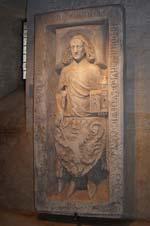 Grabplatte Ludwig des Springers auf der Wartburg