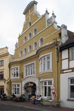 Die Alte Löwenapotheke in Wismar