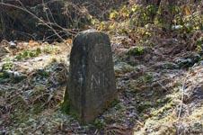 Alter Grenzstein am Holzhauer Schlag