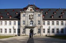 Hauptportal der Abtei Marienstatt