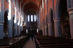 Innenansicht der Klosterkirche Marienstatt