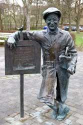 Pampel-Denkmal in Eslohe