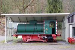 Werkslok im DampfLandLeute-Museum