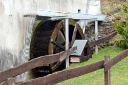 Wasserrad Knochenmühle Isingheim