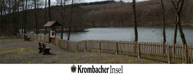 """""""Krombacher Insel"""" in der Wiehltalsperre"""