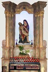 Das Gnadenbild in der Klosterkirche Marienthal