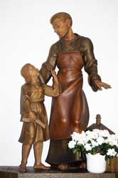 Josef mit Jesuskind in der Klosterkirche Marienthal