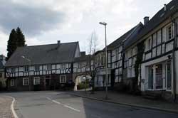 Oberbergische Fachwerkhäuser in Ründeroth
