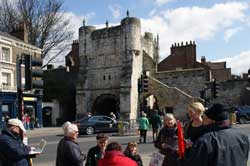 Petergate in York