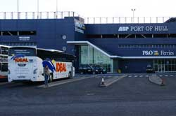 P&O Ferries, Port of Hull