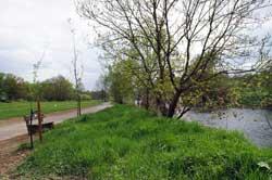 Rad- und Wanderweg entlang der Sieg in Windeck-Rosbach