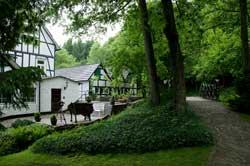 Die Holsteinsmühle bei Schloss Homburg