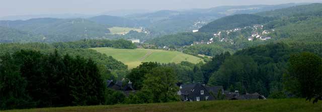 Panoramablick oberhalb von Großfischbach