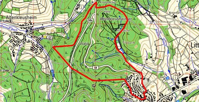 Route Historischer Rundweg Krombach