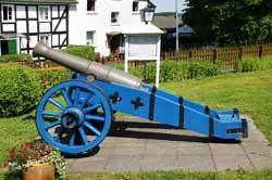Preußische Kanone in Marienhagen