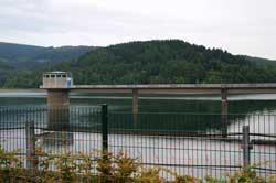 Wasserentnahmeturm Obernautalsperre