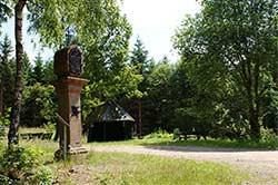 Das Steinerne Kreuz zwischen Würdinghausen und Saalhausen