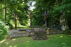 Kalvarienberg oberhalb der Kapelle