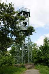 Eiserner Aussichtsturm auf dem Wilzenberg