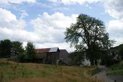 Anwesen in Winkel unterhalb der Schweinemauer