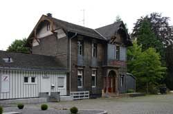 Der ehemalige Bahnhof Zollposten in Vormwald
