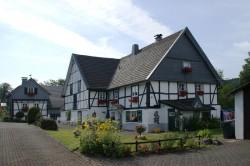 Fachwerkhäuser in Hülsenbusch