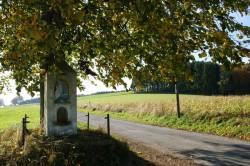 Steinernnes Wegekreuz zwischen Hönighausen und Vorderrübach