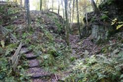 Der Steinhauerpfad auf dem Lindlarer Brungerst
